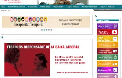 pagina web consellería